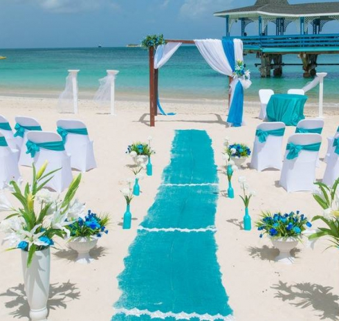 Caribbean perfect weddings abroad antigua beach weddings junglespirit Image collections
