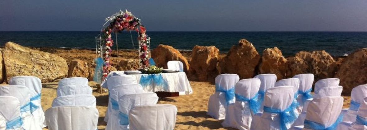 Weddings Abroad At The Poseidon Beach In Cyprus