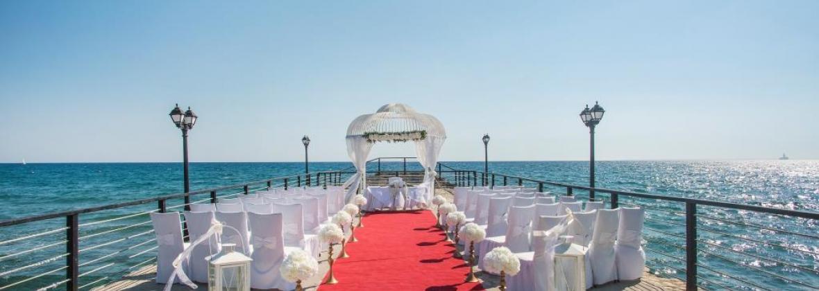 Weddings In Europe At The Elias Beach In Cyprus Europe Wedding Packages