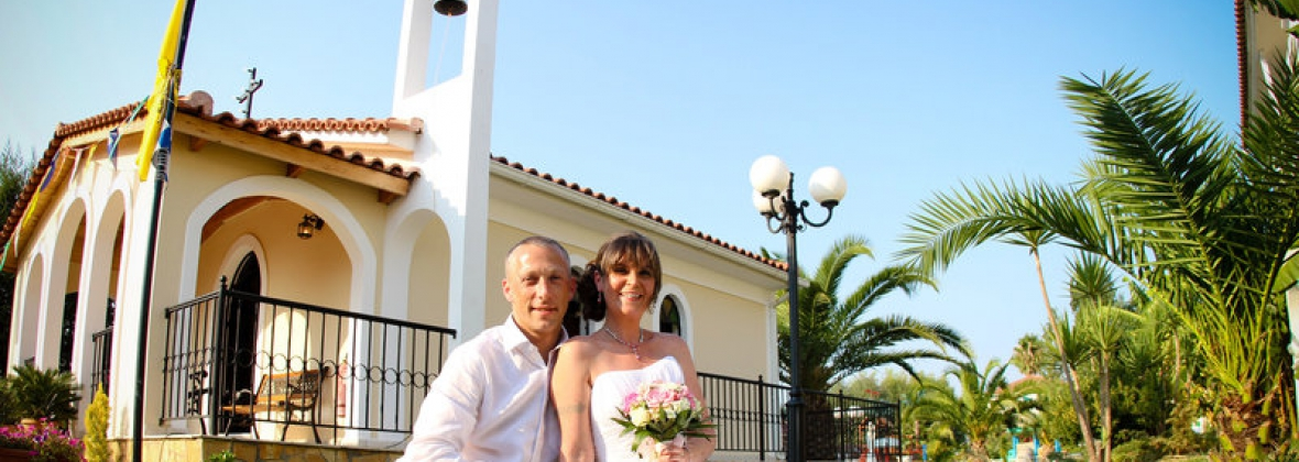 Weddings At Kalamaki Chapel In Greece