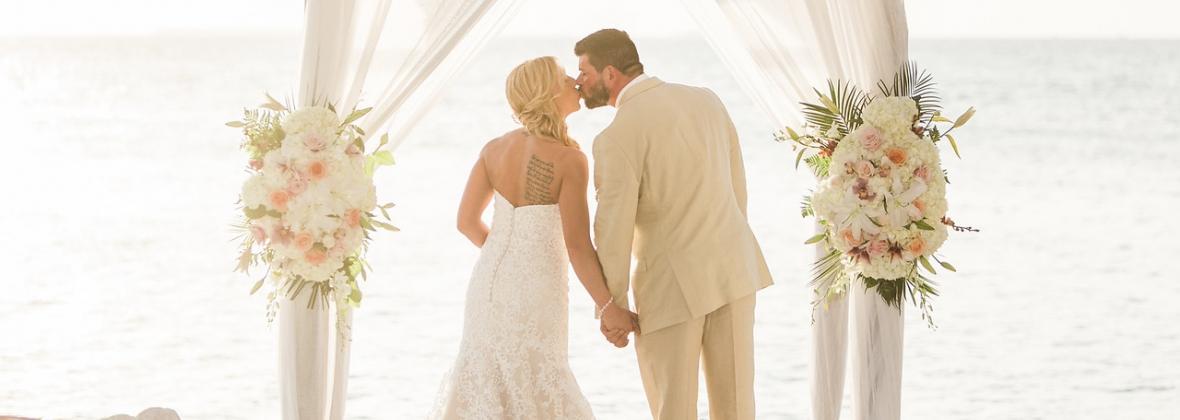 Beach Wedding Ceremony Bagatelle Reception Weddings Abroad