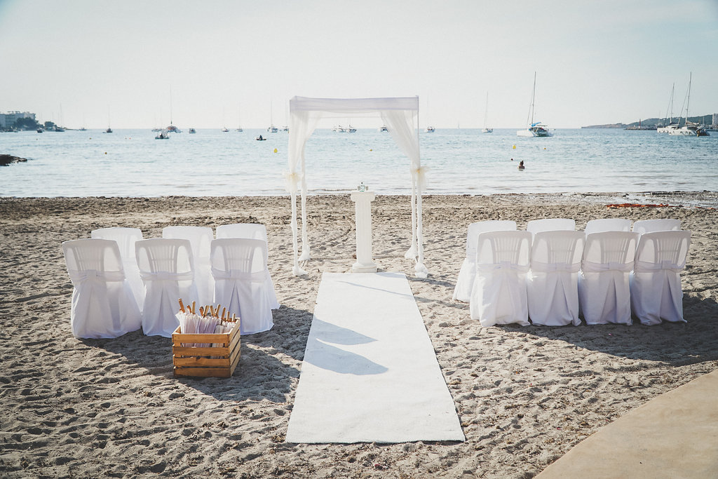 Weddings At Sa Flama Chiringuito In Ibiza Wedding Packages