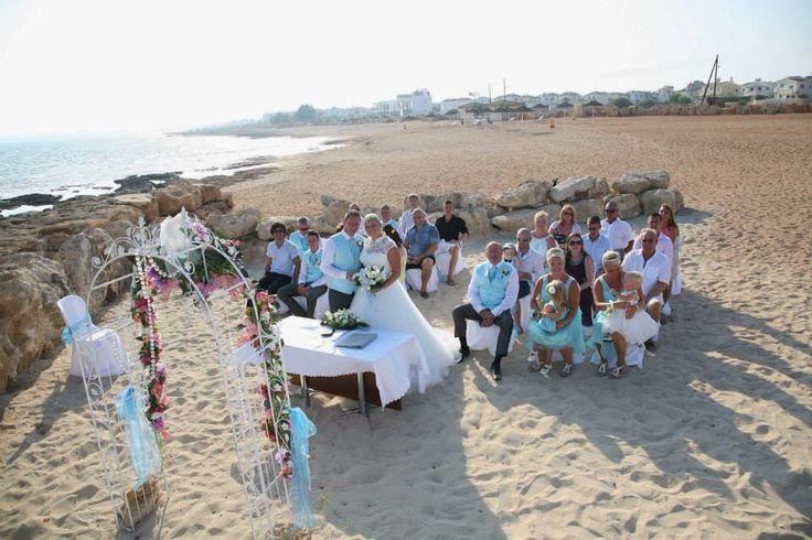 Weddings Abroad At The Poseidon Beach In Cyprus