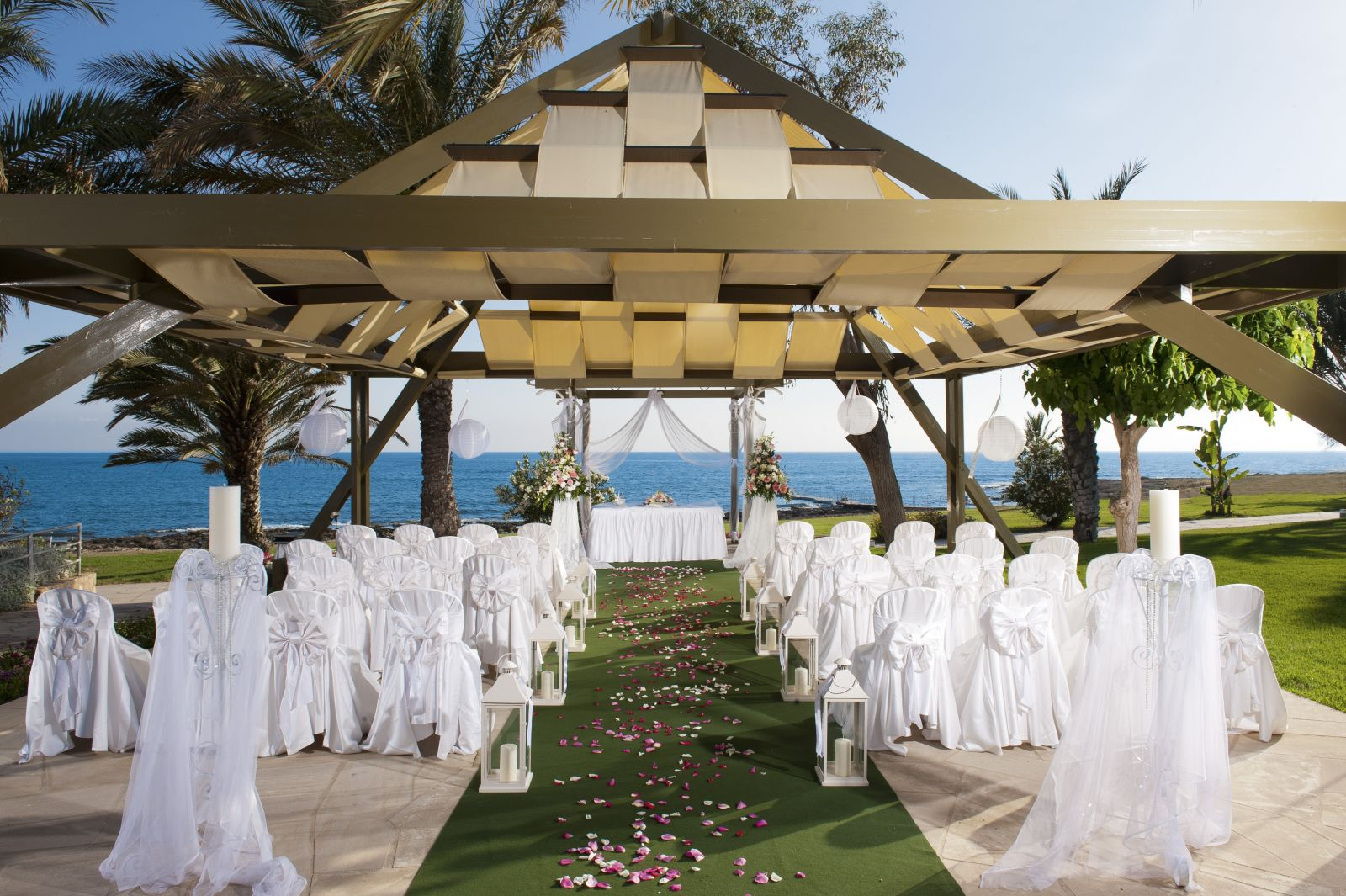 Weddings At Athena Beach In Cyprus Abroad Weddings