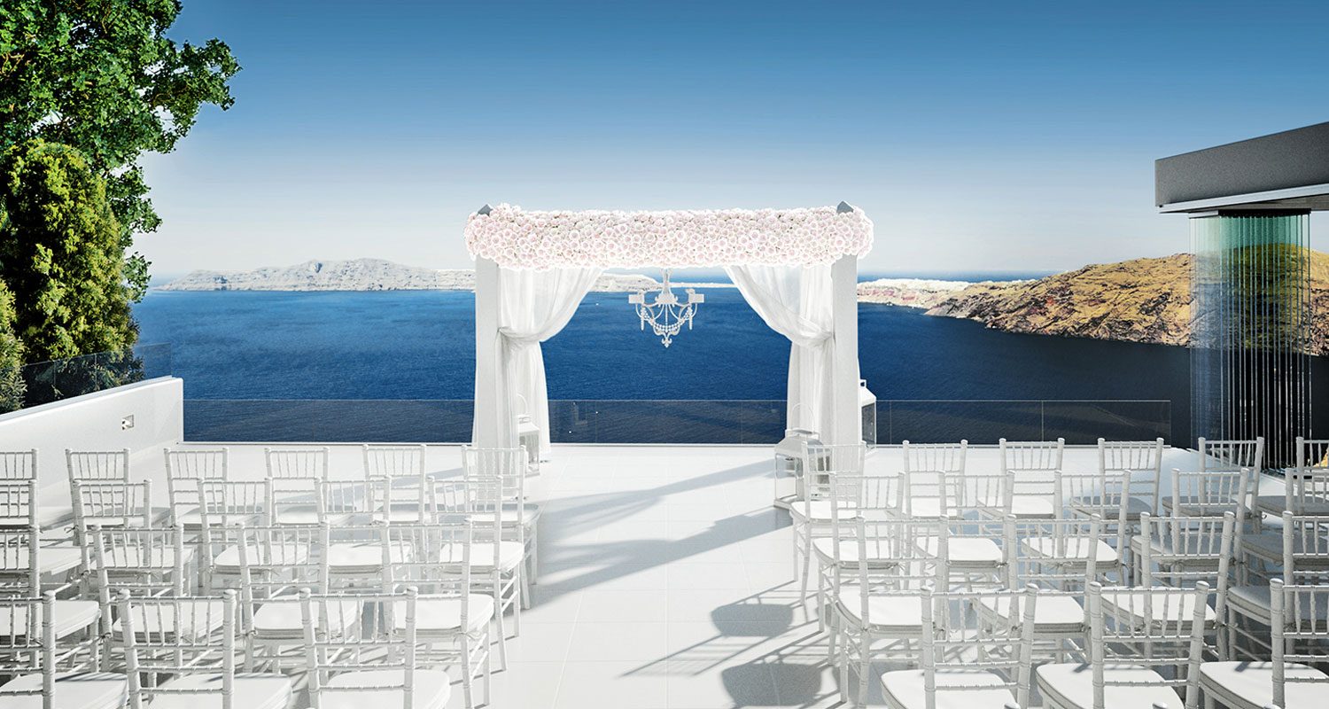 Weddings In Le Ciel Santorini Wedding Amp Event Venue Le