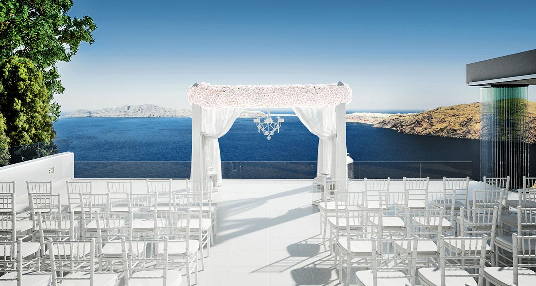 Weddings In Le Ciel Santorini Wedding Amp Event Venue Le