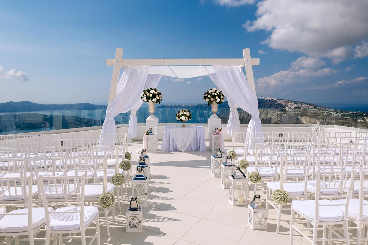 Weddings At The Santo Winery In Greece Wedding Packages