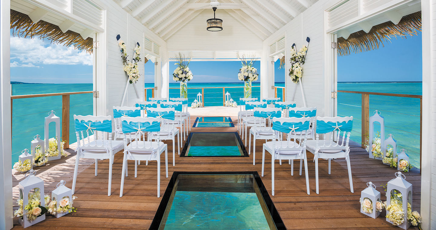 Our Jamaican wedding at Sandals Whitehouse.   Jamaican