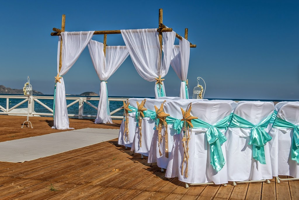 Wedding Packages Abroad At Vezalis Beach In Greece