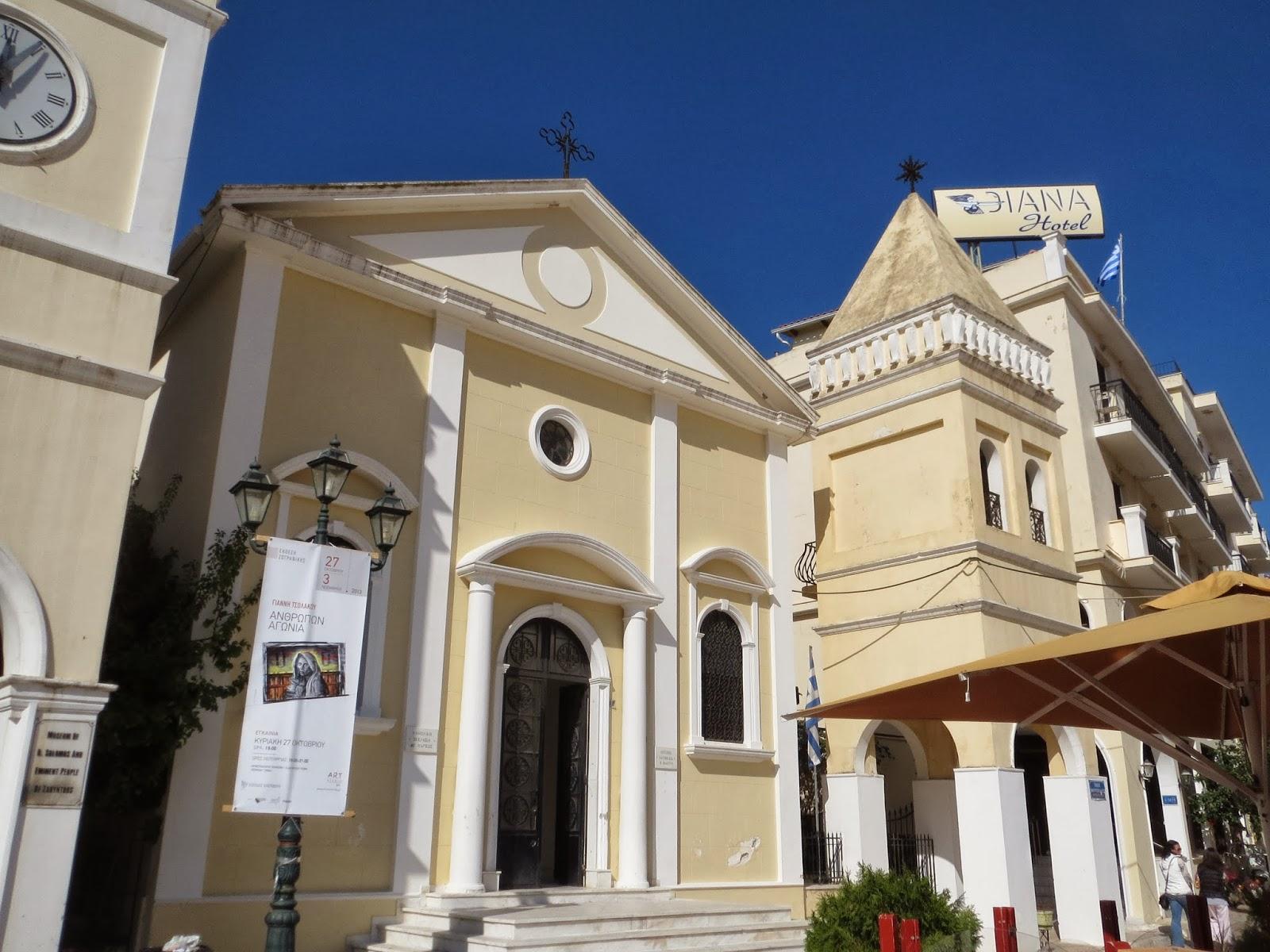 Weddings At Zante Town Catholic Church In Greece Abroad