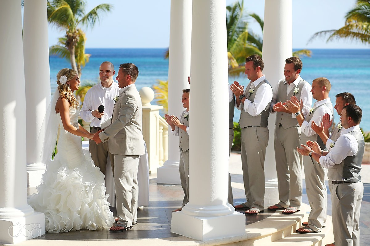 Weddings In Barcelo Maya Beach Resort Barcelo Maya Beach