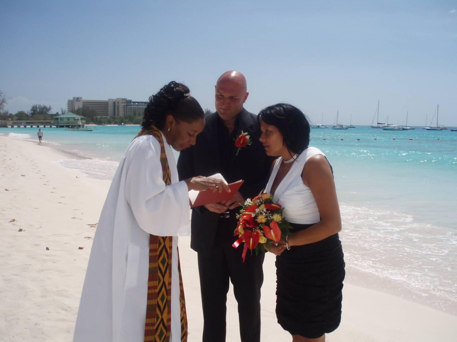 Bottom bay wedding