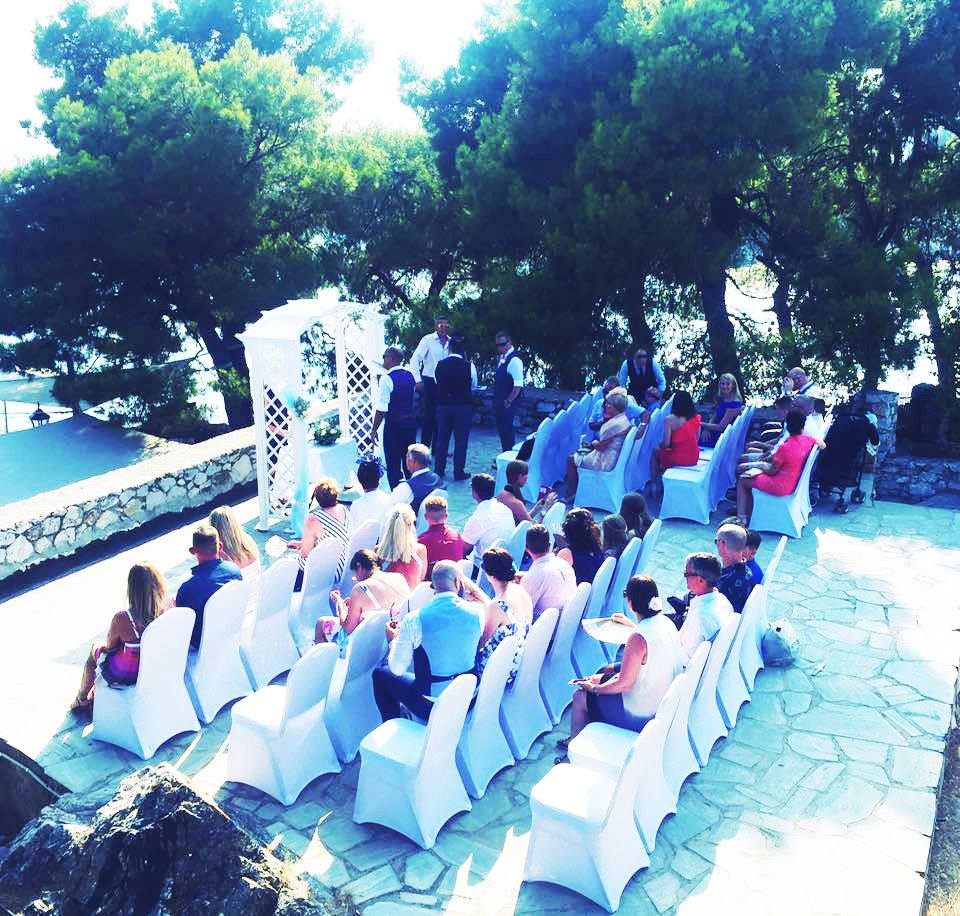 Perfect Weddings Abroad: Skiathos Bourtzi Wedding And Harbour View Reception