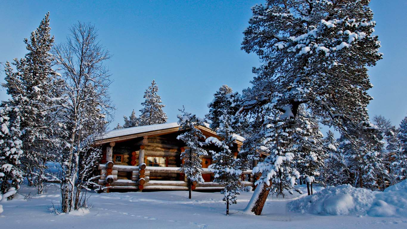Private log cabin weddings abroad getting married at a for Log cabin wedding