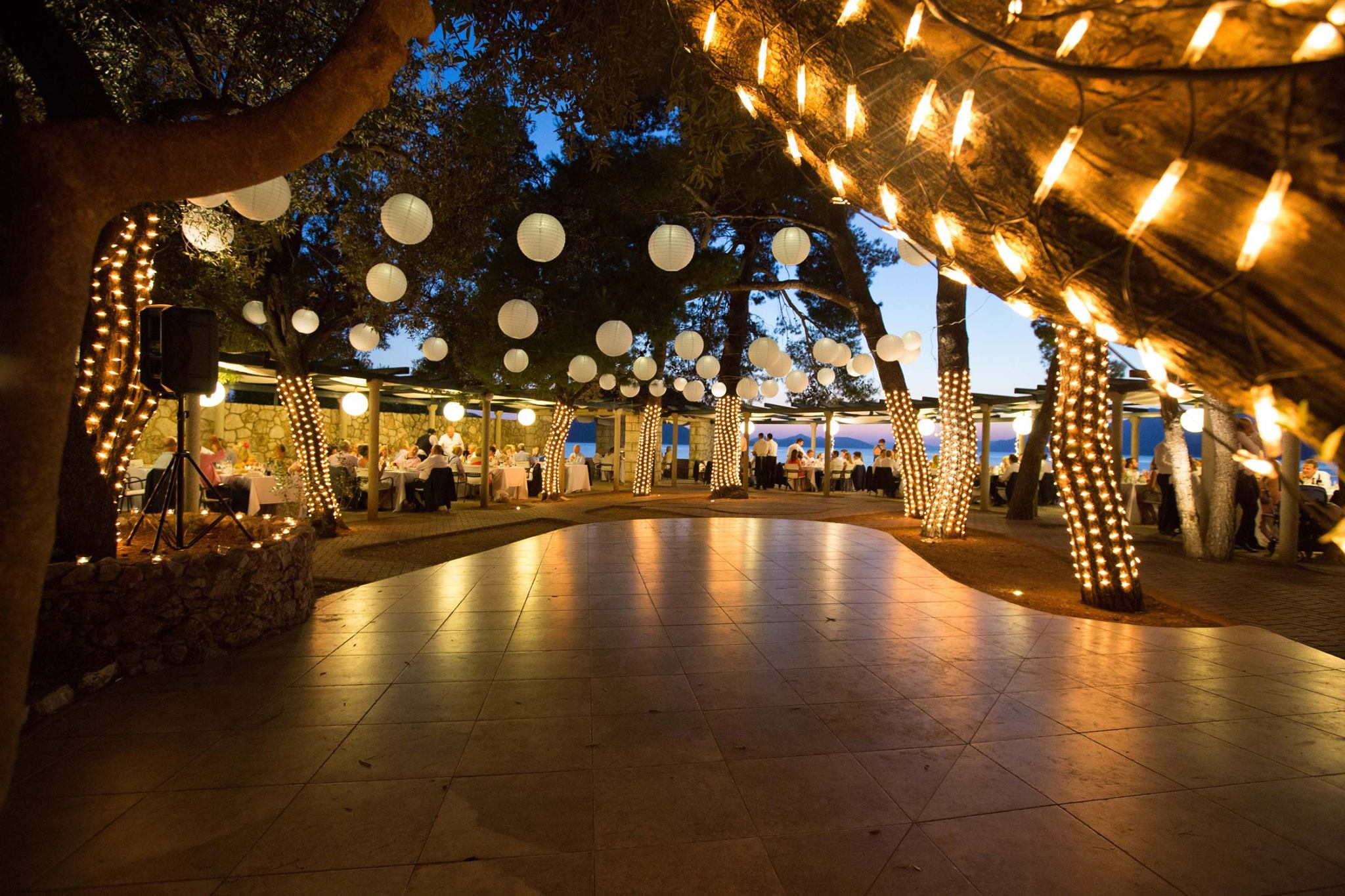 weddings at villa ruza � villa ruza weddings from perfect
